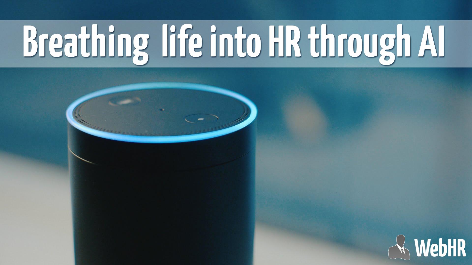 Breathing life into HR through AI